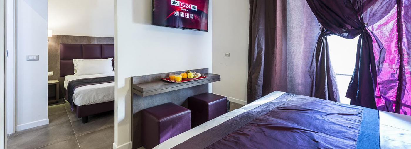 Camere hotel california hotel 3 stelle roma for 3 stelle arredamenti